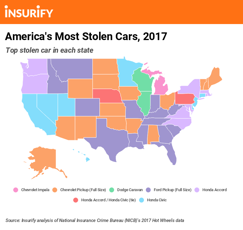 The 10 most stolen cars in America | Autos | poststar com